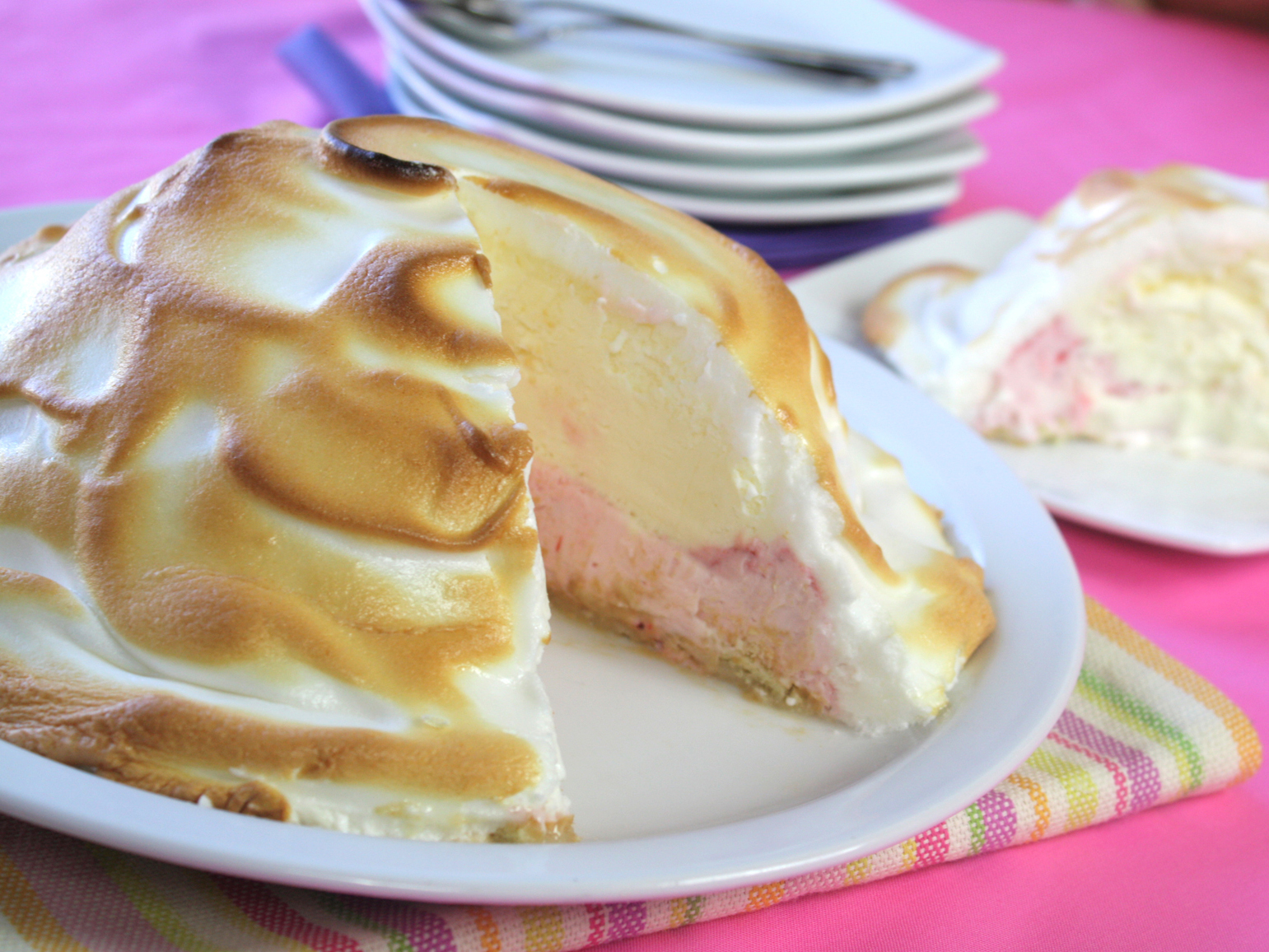 What is a Baked Alaska?