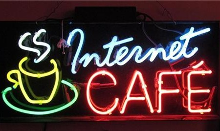 The Origin of Cyber Cafés